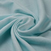 Mint - Plain 100% Cotton 2x1 Rib
